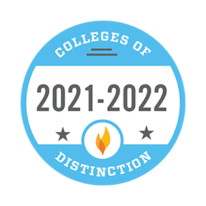 Colleges of Distinction Logo – National, 2021–2022
