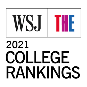 Wall St. Journal/Times Higher Ed. Annual College Rankings Logo