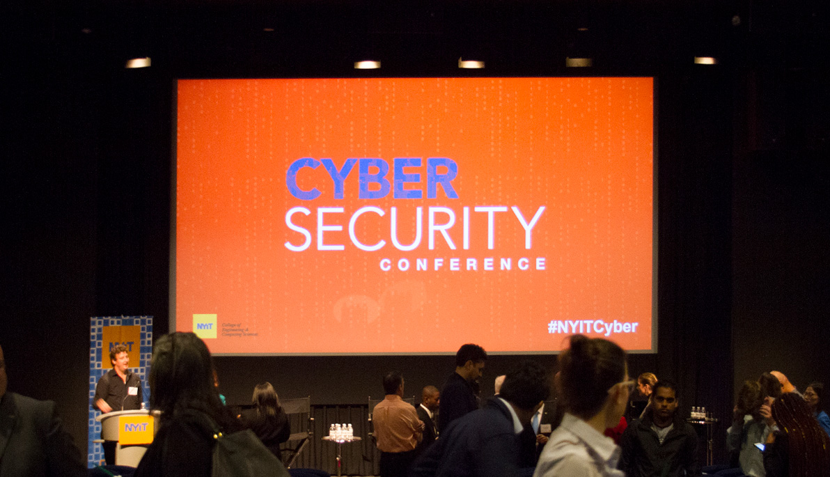 Attendees at NYIT's Cybersecurity Conference.