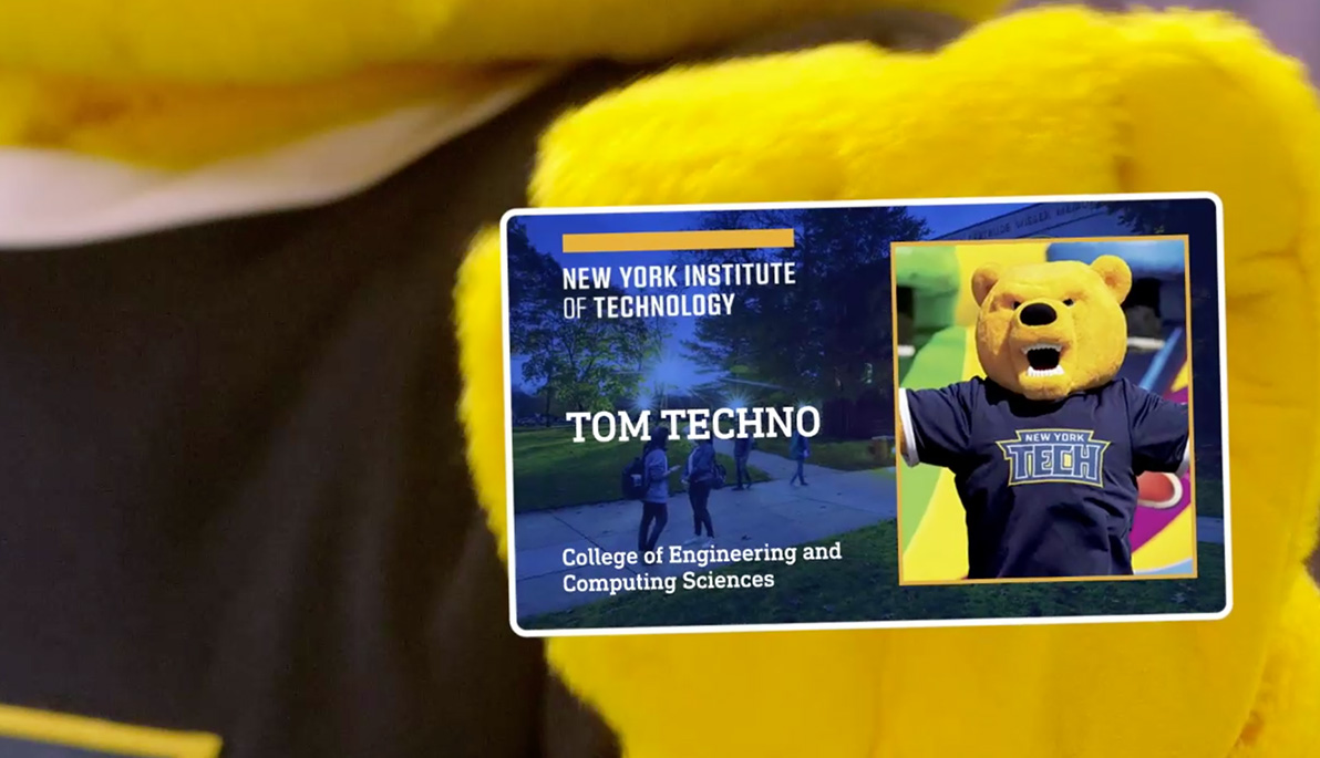 Personalized New York Tech ID card