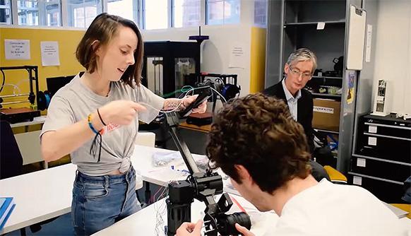 New York Tech Celebrates Student Employees