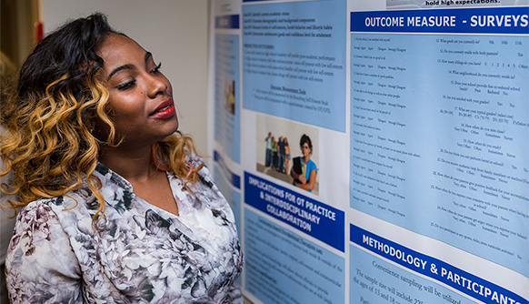 Health Professions Students Share Research at Annual Aletheia Symposium