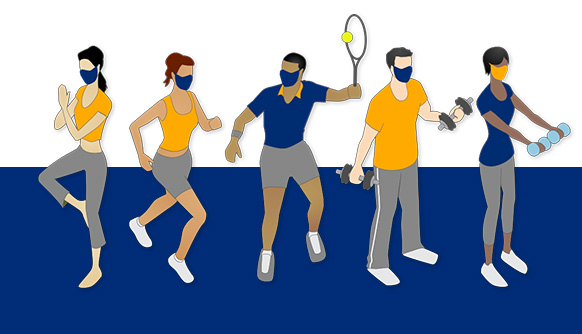 Exercising with a Mask