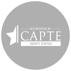 CAPTE Accreditation Logo