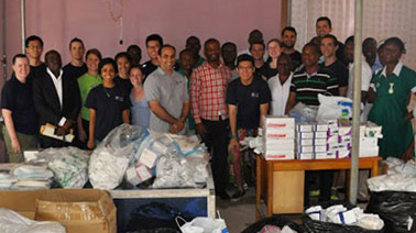 NYIT Students and Faculty Provide Medical and Health Rations in Haiti and Ghana