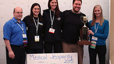 NYIT Medical Jeopardy team