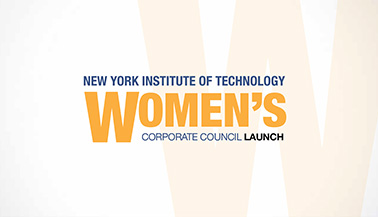 Large W logo for NYIT's Women's Corporate Council