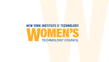 Large W logo for NYIT's Women's Technology Council