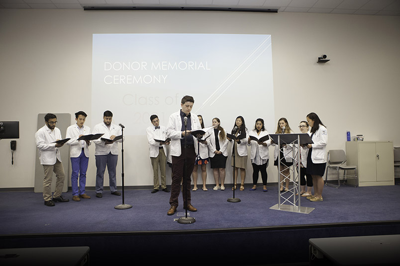 "NYITCOM's acapella group, The Note-O-Chords, perform a poignant rendition of ""Hallelujah."""