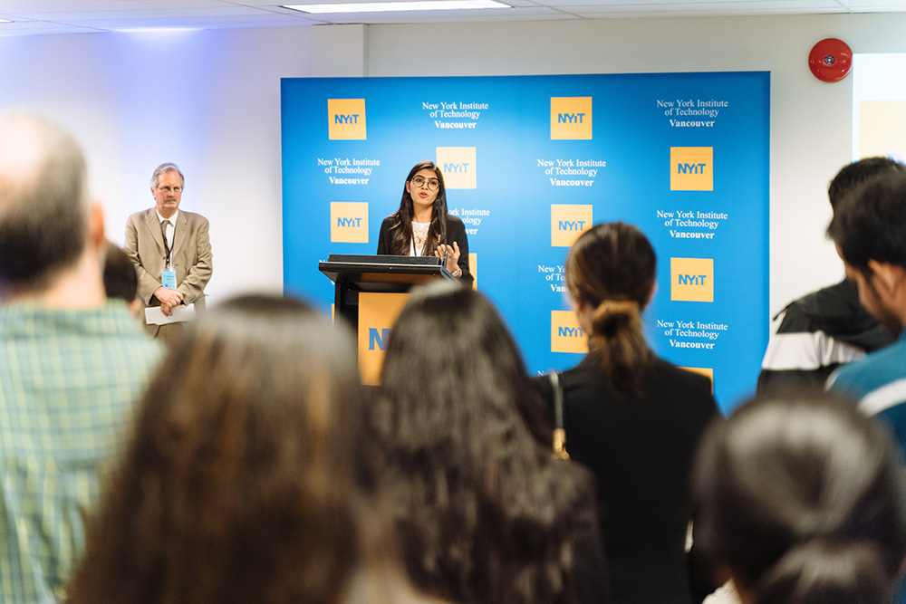 M.S.-I.N.C.S. student and graduate assistant Riddhi Patel describes her experience at NYIT-Vancouver.<br><br><em>Photo Credit:  Darko Sikman, Darkoroom Photography & Video Production</em>