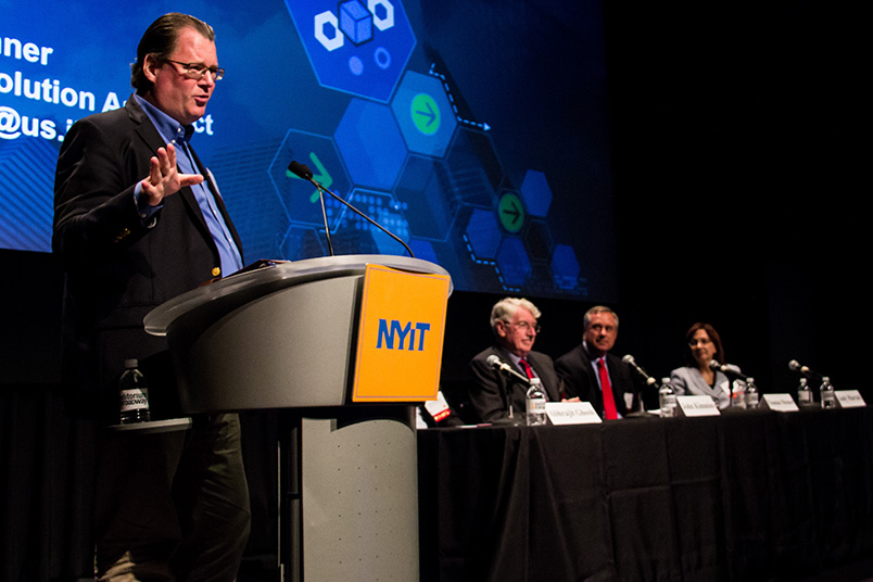 NYIT hosts Annual Cyber Security Conference – SEPTEMBER 22, 2016 (Photo by Joseph Rom)