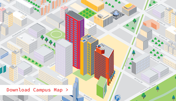 NYIT-New York City campus map
