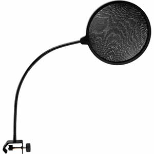 Auray nylon pop filter with gooseneck