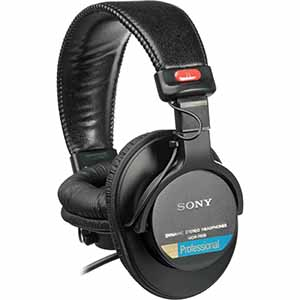 Sony MDR-7506 sound monitor headphones