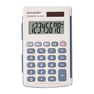 Sharp 8 Digital Basic Calculator