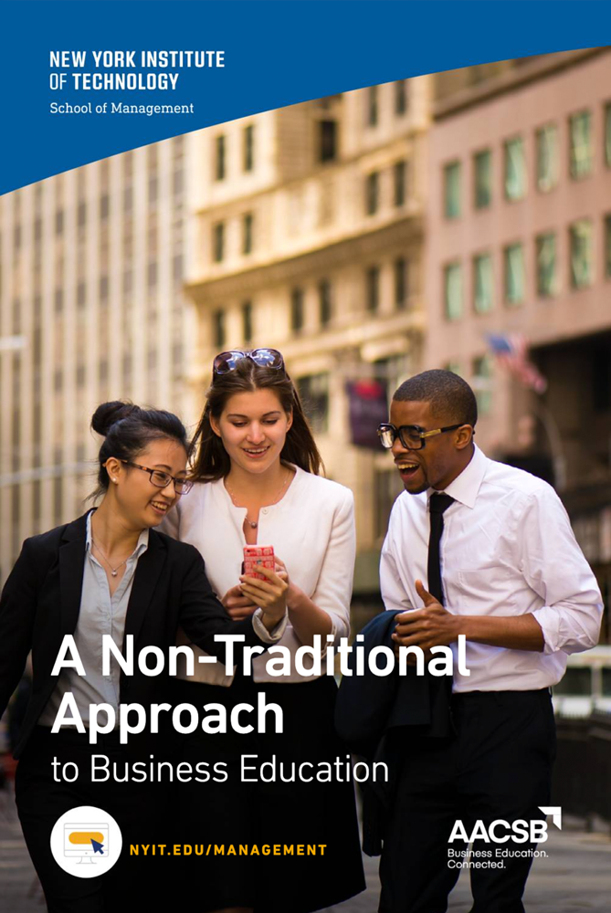 A Non-traditional Business Approach Brochure