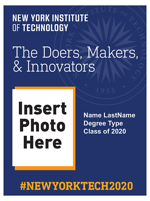 Commencement Poster - Doers, Makers, Innovators