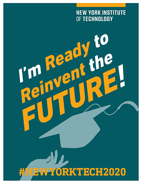 Commencement Poster - Ready to Reinvent the Future